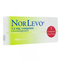 Norlevo 1,5 mg comprimé - Contraception d'Urgence