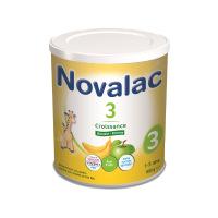 Novalac Lait de Croissance 3 Gout Banane Pomme 800 g