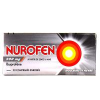 Nurofen 200 mg 20 comprimés enrobés