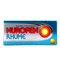 Nurofen Rhume Ibuprofène 200 mg 20 comprimés