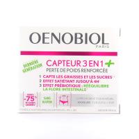 Oenobiol - Capteur 3 en 1+ - 60 gélules