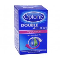Optone Solution Oculaire Double Action