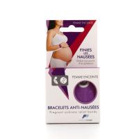 Pharmavoyage Bracelet Anti-Nausées Femme Enceinte
