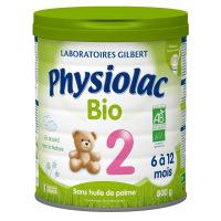 Physiolac 2 BIO 6 à 12 mois