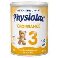 Physiolac 3 Croissance 1 à 3 ans