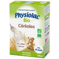 Physiolac Bio céréales 200g