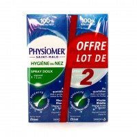 Physiomer Spray Nasal Adulte et Enfant 2x135 ml