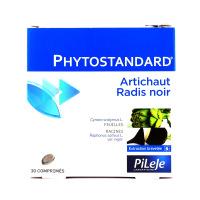 Phytostandard d'artichaut - radis noir 30 comprimés Pileje