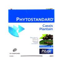 Phytostandard de cassis - plantain 30 comprimés Pileje