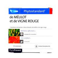 Phytostandard de mélilot - vigne rouge 30 comprimés