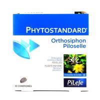 Phytostandard de orthosiphon- piloselle 30 comprimés Pileje