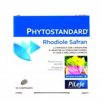 Phytostandard  Rhodiole et safran Pileje 30 comprimés
