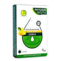 Phytosun Aroms Pastilles Citron Sans sucre Gorge 24 Pastilles