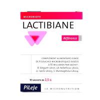 PILEJE Lactibiane Référence -  10 sachets de 2.5g