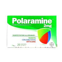 Polaramine 2 mg 20 comprimés