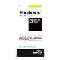 Pondimax Appétit et nutrition 84 gélules NHCO
