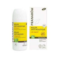 Pranarom Bio Aromapic Roller anti-moustique lait corporel