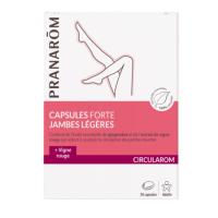 Pranarom Circularom Capsules Forte Jambes Légères