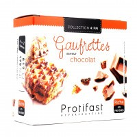 PROTIFAST 4:PM Gaufrettes Chocolat x8