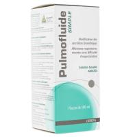 Pulmofluide Simple solution buvable 180 ml