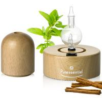 PURESSENTIEL - Diffuseur à nébulisation en bois naturel