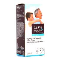 Quies Audio Spray nettoyant pour Aides auditives 50ml