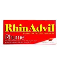 RhinAdvil Rhume ibuprofène/pseudoephedrine 20 comprimés