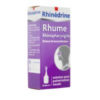 Rhinédrine Solution Nasale