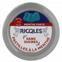 Ricqles - Pastilles Menthe Sans Sucre