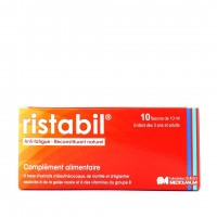 Ristabil Anti-Fatigue 10 flacons de 10 ml