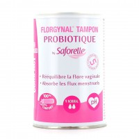 Saforelle Florgynal Tampon Probiotique Normal Applicateur Compact x9