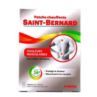 Saint-Bernard Patch Chauffant Dos et Épaules 3 patchs