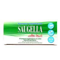 Saugella Cotton Touch Tampons Hygiéniques Super x16