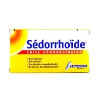 Sédorrhoïde 8 suppositoires