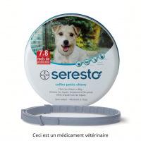 Seresto Collier Anti-puces et tiques pour chien de < 8kg