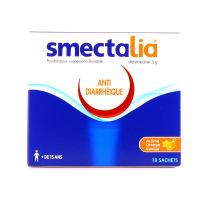Smectalia orange vanille 3g 18 sachets