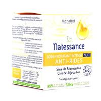 Soin hydratant intense anti-âge nuit en 50 ml