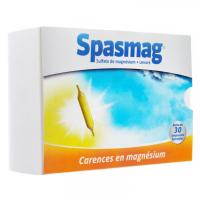 Spasmag solution buvable 30 ampoules