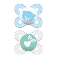 Sucettes en silicone Naissance 0/2 mois pour nouveaux-nés et même les prématurés lot de 2