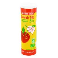 Super Diet - Acérola Bio 500 - 12 comprimés