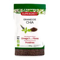 Superdiet - Graines de chia Bio - 200gr