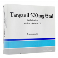 Tanganil 500 mg/5 ml 5 ampoules injectables