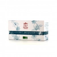 Thé de la Pagode - Jardin d'asie (coffret 3 ifusions, 1 rooibos & 2 thés) - 6 x 5 Infusettes