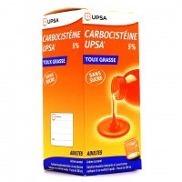 UPSA Carbocistéine 5% sans sucre 200ml