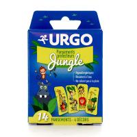 URGO 14 pansements protecteurs Jungle 4 décors