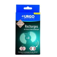 Urgo 3 Recharges de Patch d'Électrothérapie