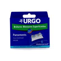 Urgo Pansements Waterproof Brûlures & Blessures Superficielles