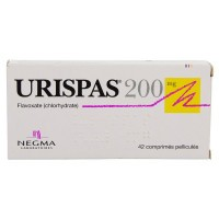 Urispas 200 mg 42 comprimés