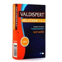Valdispert Mélatonine 1,5mg Nuit agitée