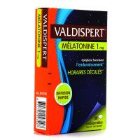 Valdispert Mélatonine 1mg 50 comprimés Complexe Favorissant l'Endormissement